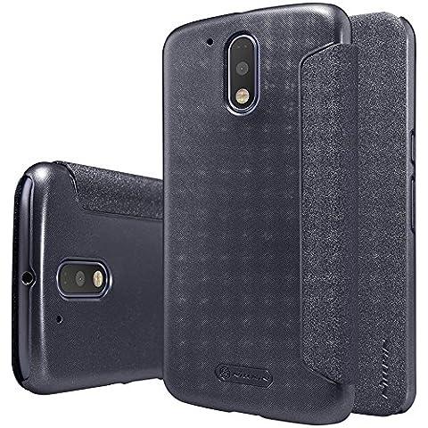 Motorola MOTO G4 Funda Case - IVSO Slim Armor Cover Funda Protectora para Motorola MOTO G (4th Gen), MOTO G4 2016 Smartphone(Slim Book Series -