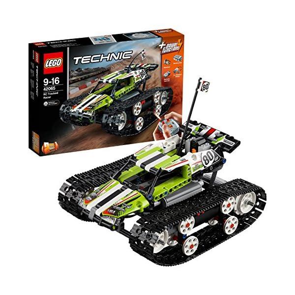 LEGO- Technic Cars Racer Cingolato Telecomandato Costruzioni Piccole Gioco Bambina, Multicolore, 42065 1 spesavip