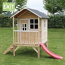 Exit Toys Loft 300 Casa de juguete con tobogán