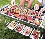 Moran Acero Inoxidable Grill Home Grill 5 o Más Barbacoa de Carbón Salvaje al Aire Libre