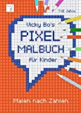 PIXEL-Malbuch für Kinder. Malen nach Zahlen. 7-12 Jahre - Vicky Bo
