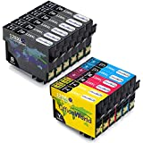 OfficeWorld For Epson T1281 T1282 T1283 T1284 Ink Cartridges T1285 Compatible Stylus Sx235W Sx425W Sx445W Sx125 Sx130 Sx230 Sx420W, Office Bx305Fw Bx305F