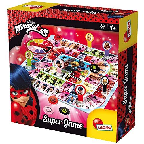 Lisciani Jeux 66070.0-Ladybug Miraculous Super Game