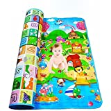 Angel Bear Double Sided Baby Play & Crawl Mat (6 Ft X 6 Ft)(Print May Vary)