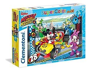 Clementoni 24481 Puzzle Puzzle - Rompecabezas (Puzzle Rompecabezas, Dibujos, Niños, Mickey and The Roadster Racers, Mickey, Niño/niña)