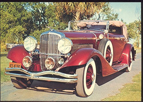dennis-postcard-of-vintage-cars-duesenberg-1935