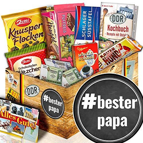 BesterPapa / DDR Schokolade Set / Geschenk für Papa zum 55 Geburtstag