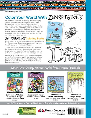 Zenspirations Inspirations: Create, Color, Pattern, Play!
