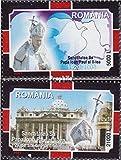 Rumänien 5926x-5927x (kompl.Ausg.) 2005 Papst Johannes Paul II. (Briefmarken für Sammler)