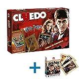 Winning Moves 10944 - Cluedo Harry Potter Brettspiel Spiel Gesellschaftsspiel + Kartenspiel - Deutsch