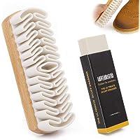 Brosse à chaussures de nettoyage en cuir suédé mat Brosse de crêpe de décontamination avec gomme de nettoyage pour…