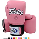 Fairtex Muay Thai Boxhandschuhe BGV1 Limited Edition - Emerald green Size: 10 12 14 16 oz Training & Sparring All Purpose Gloves for Kick Boxing MMA K1 Tight Fit Design