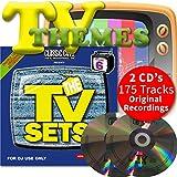 Classic Cuts Presents TV Sets Vol 11 & 12 Double CD - 70s 80s 90s & 00s Themes
