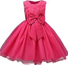 AVN JEWELLERS AVN Collections Smart and Elegant Dark Pink Colour Birthday Frock Party Dress