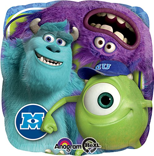 Amscan International 18SDC Disney Monsters University Geburtstag Folienballon (Monsters Inc Party)