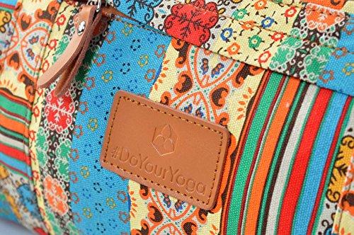#DoYourYoga Yogatasche Damayanti Muster 1 Logo