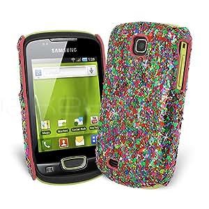 Femeto Disco Extreme Sparkle Glitter Back Cover Case for Samsung Galaxy Mini S5570