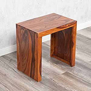 beistelltisch nest l 45cm farbe natural akazie blumenhocker massiv holz tisch k che. Black Bedroom Furniture Sets. Home Design Ideas