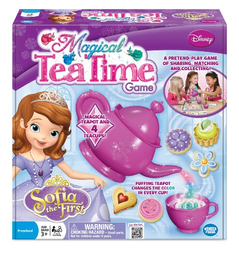 Sofia the First Magical Tea Time Board Game