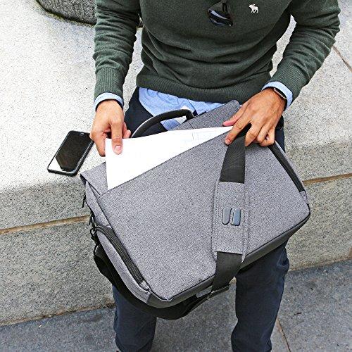 Laptoptasche  Snugg grau 17 Zoll - 5