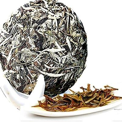 100g (0.22LB) Thé blanc parfumé de Caicheng Clair de lune Vieux thé de Puerh Thé cru de Puer Beauté Thé Vieille nourriture organique de thé Thé blanc de pivoine Nourriture verte Thé cru Thé de Sheng cha
