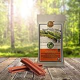 Gesunde natürliche Hundesnacks | Zahnpflege-Snack fleischlos | Tiera Vital Basmati Snack XL mit Karotten und Wildlachsöl