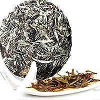 100g (0.22LB) Caicheng fragante té blanco claro de luna viejo Puerh té Puer té crudo té de belleza árbol viejo alimentos orgánicos té blanco peonía té alimento verde té crudo Sheng cha té chino