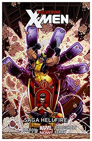 Saga Hellfire Wolverine and the X-Men (Tom 3) - Jason Aaron [KOMIKS]