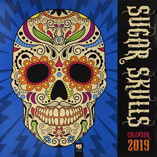 Sugar Skulls - Totenköpfe aus Zucker 2019 (Wall-Kalender) -