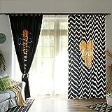 YUNCHENGZI Nordische schwarz-weiß wellig vorhänge,Kleidung Store Vorhang Ankleidezimmer Garderobe Panel 106