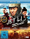 Jet Li Edition (Die Legende der Weißen Schlange / The Warlords / Flying Swords of Dragon Gate) (3 Blu-rays) [3D Blu-ray]