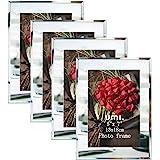 Amazon Brand - Umi Cornici da Tavolo per Foto 13x18 in Vetro Rispecchiato, Set di 4