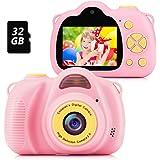 Fede Cámara Fotos Infantil Cámara Digital para Niños, Juguetes Regalos para Niños o Niñas de 3 a 12 Años, Pantalla HD de 2 Pu