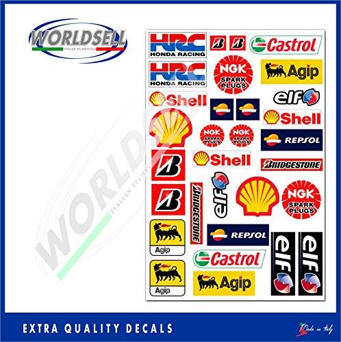 vinilo-etiquetas-31-etiquetas-kit-de-auto-moto-gp-agip-shell-castrol-ngk-logotipo-del-patrocinador
