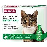 Zecken- und Flohschutz SPOT-ON Katze 3 x 0,8 ml