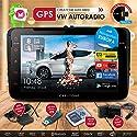 2DIN Autoradio Android 6.0 CREATONE AWS-8800 mit GPS Navigation (aktuelle Europa-Karten mit Radarwarnungen) | DVD-Player | USB bis 4TB l Quad-Core Cortex A7 CPU | 16GB integriert | 4K Ultra HD Video Unterstützung | WLAN | Bluetooth 4.0 | Touchscreen 8 Zol