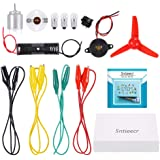 Sntieecr Electric Circuit Motor Kit, Educational Montessori Learning Kits Set for Kids DIY STEM Science Project