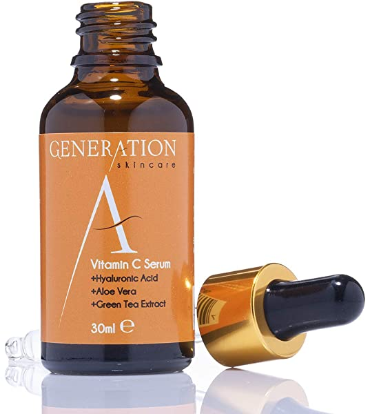 Generation Skincare Vitamin C Serum Face Cream With Hyaluronic