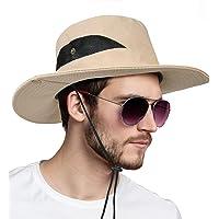 flintronic Cappello da Pescatore,UV UPF50+ Cappello da Sole da Uomo da Escursionismo, da Escursionismo, da Pesca, da…