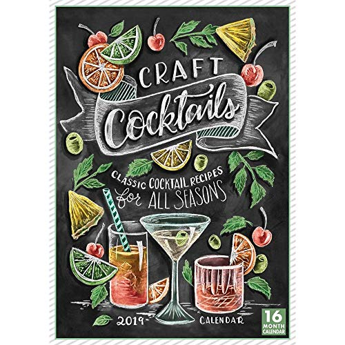 Craft Cocktails 2019 Wandkalender Classic Cocktails for All Seasons - Kohls Food Network