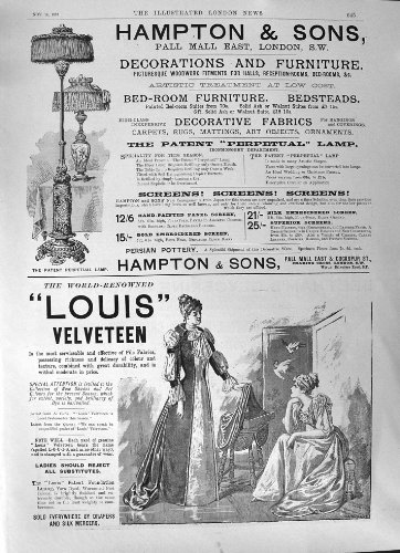 sapone-1891-del-juvenia-delle-mannaie-del-velluto-di-cotone-di-hampton-louis-della-pubblicit-beetham