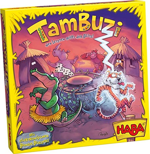 Tambuzi - A Lightning Fast Reaction Game (Made in Germany)