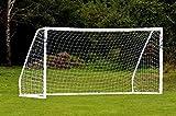 FORZA Match - 3,7 x 1,8 m wetterfestes Fußballtor. Neu: auch mit abnehmbarer Torwand bestellbar! Net World Sports (Forza Matchtor 3.7x1.8m)