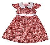 Always Kids Girls' Regular Fit Dress (Pi...