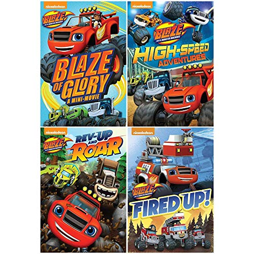 Blaze and the Monster Machines: TV Series DVD Collection - 14 Complete Episodes + Blaze of Glory Video Storybook - Monster-truck-dvd