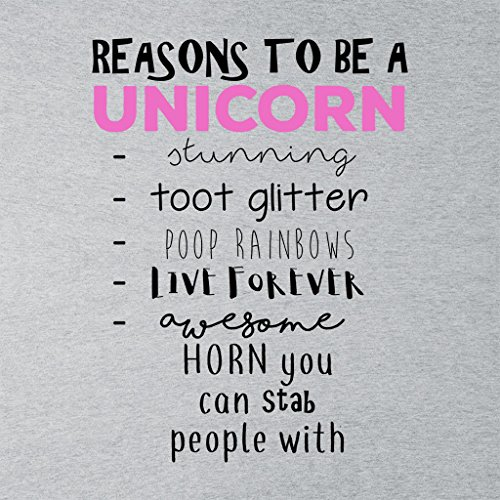 Reasons To Be A Unicorn Women's Vest Heather Grey