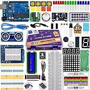 Quad Store(TM) - Super Starter Kit for Arduino Uno R3 (Beginner's