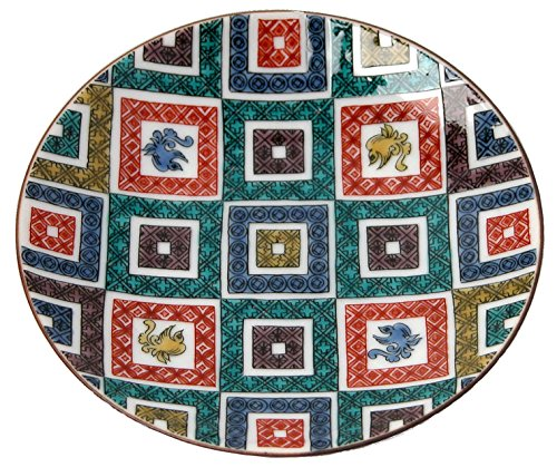 kutani-kutani-overglaze-enamels-bean-plate-old-cobbled-statement-mc-01-japan-import-the-package-and-