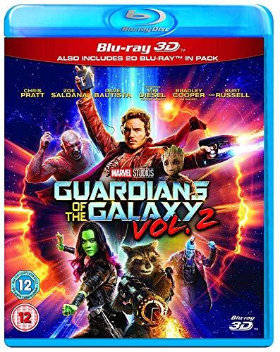 Guardians of the Galaxy Vol.2 3D BD [Blu-ray] [2017] [Region Free]