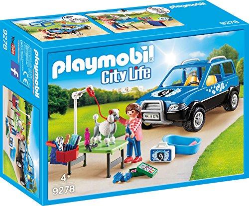 PLAYMOBIL 9278 - Mobiler Hundesalon Spiel (Hundesalon)